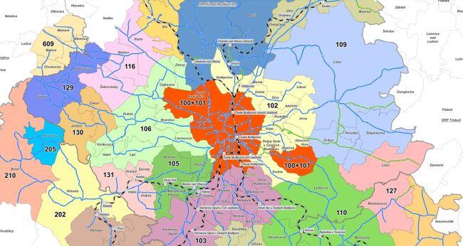 Mapa IDSJK