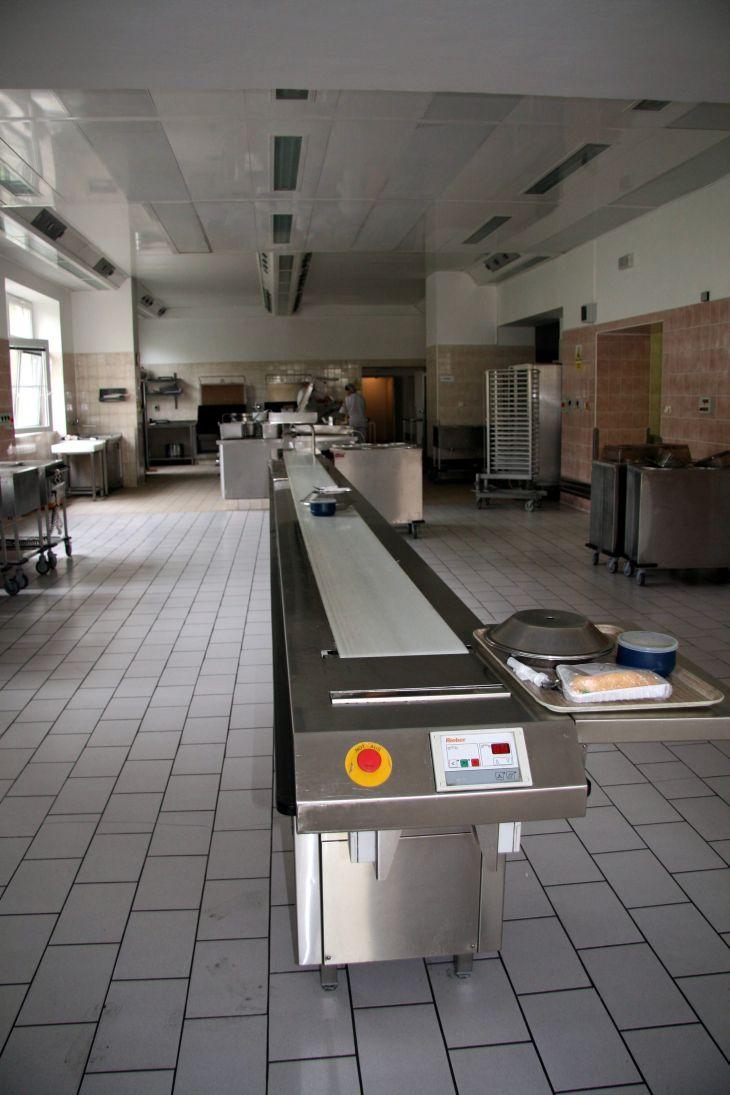 Kuchyně písecké nemocnice