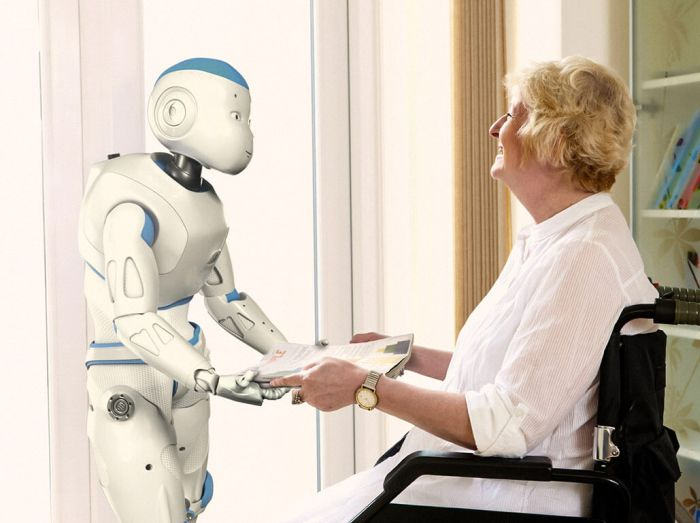 robot asistent