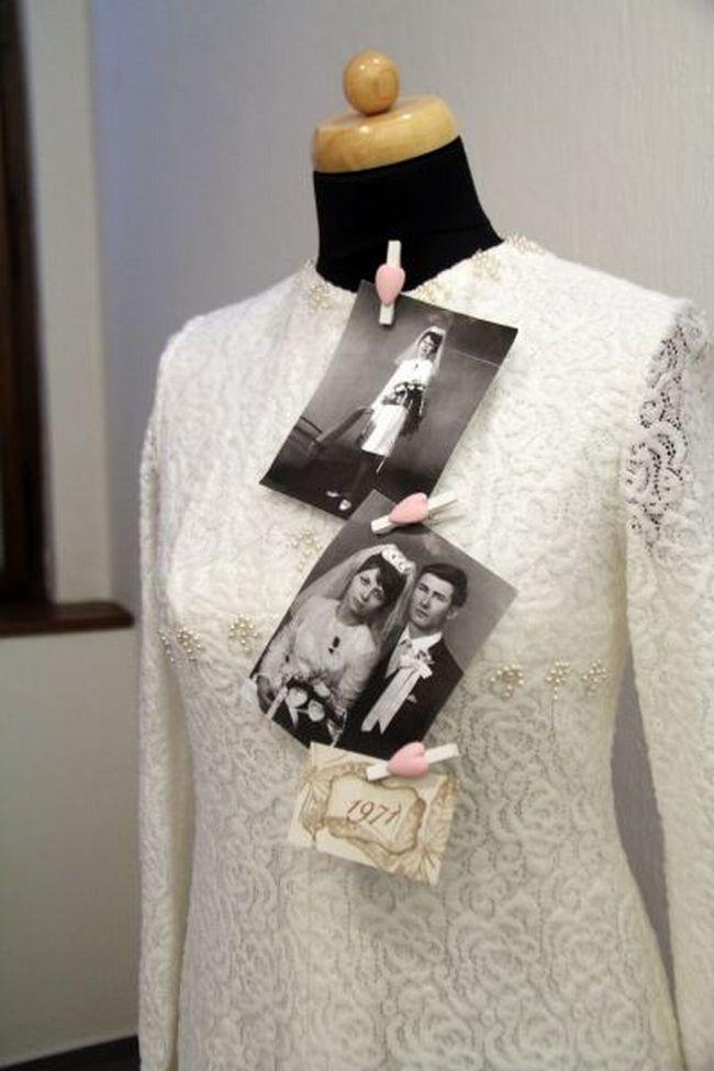 Výstava svatebních šatů