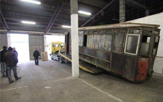 Jihlava: První tramvaj se po letech vrátila domů