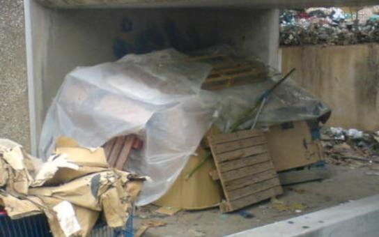 Mělník: Pět bezdomovců se v mrazech rozhodlo nepřijmout pomoc