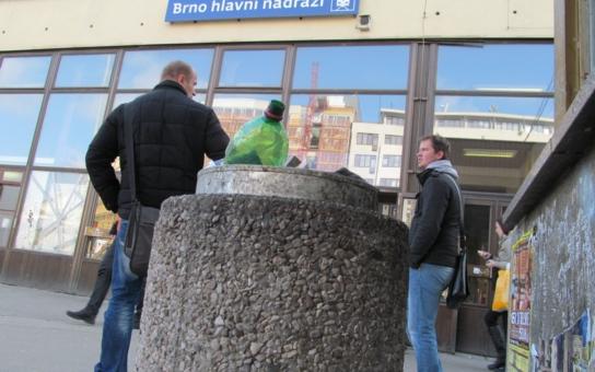 Město nechává chátrat brněnské nádraží naschvál, křičí aktivisté