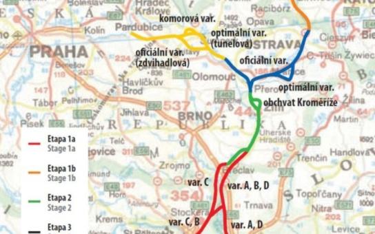 Prezident Zeman vrací do hry kanál Dunaj Odra Labe. Za 200 miliard