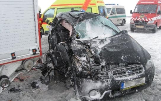 Při tragické nehodě vyhasly dva životy