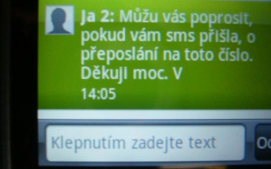 Jesenicko: Další podvodné SMS! Jak se bránit?