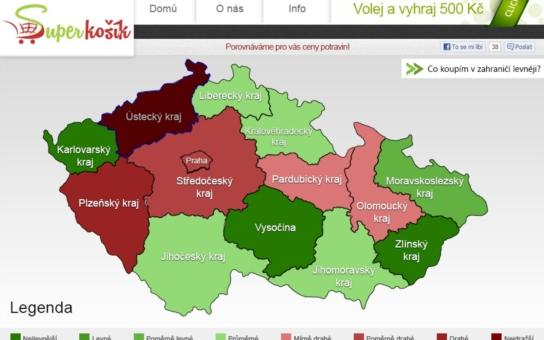 Kde nejlépe nakoupit? Pomůže specializovaný web Superkošík.cz