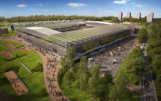 Radnice má navrch v boji o fotbalový stadion. 14 organizací protestuje