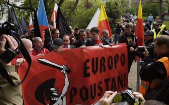 Romský útok v Přerově! Po skončení pochodu nacionalistů