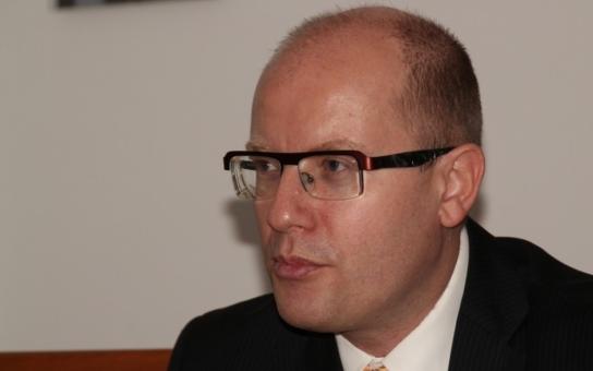 Otrokovice navštívil Bohuslav Sobotka