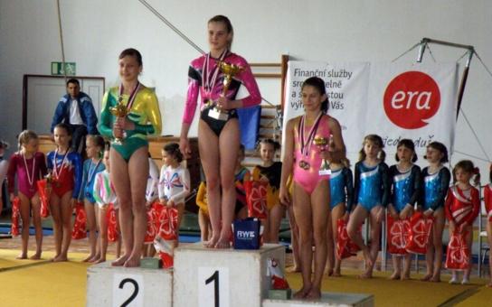 Děčín hostil soutěž v gymnastice O pohár Věry Čáslavské. Město ani kraj to nezajímalo