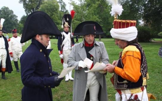 Rozpoutala se napoleonská bitva, kvůli expozici na zámku