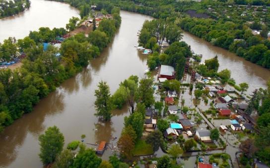 Voda vyděsila Libeň, kterou v roce 2002 zničila povodeň
