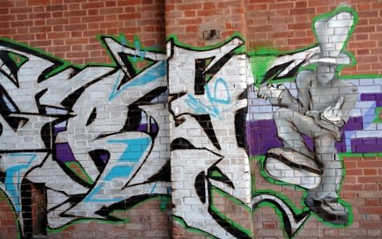 Otrokovice mají vyhrazené plochy pro legální graffiti