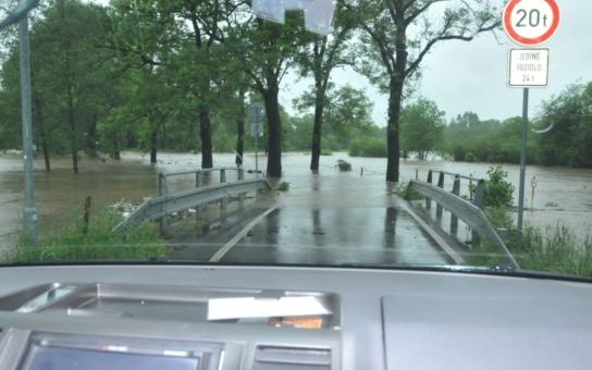 Cyklostezka na Kuks není povodní poškozena