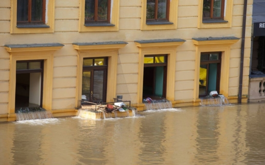 V Hradeckém kraji poškodila povodeň 63 obcí