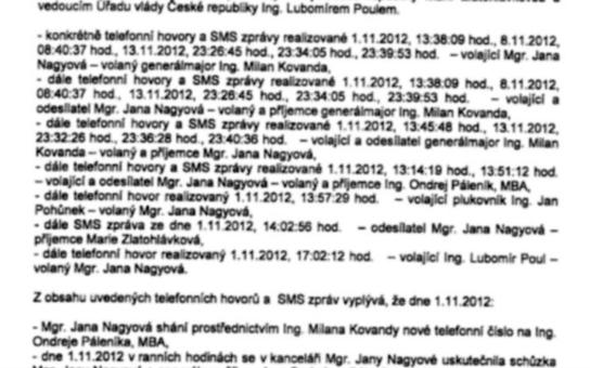 Máme SMS Jany Nagyové: Pojďte si počíst