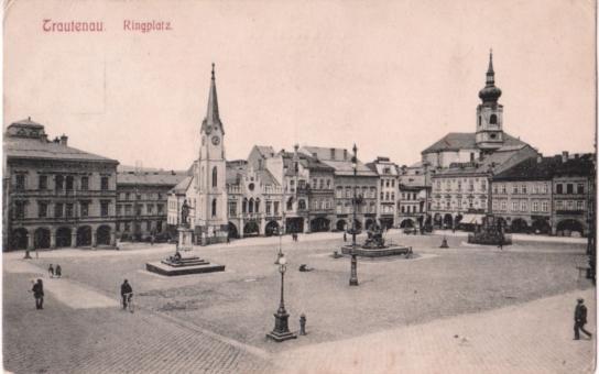 Krakonošovo náměstí v Trutnově získá podobu jako před sto lety