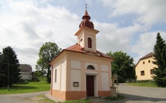 Kaple v Jihlavě-Kosově bude mít původní výmalbu z roku 1877