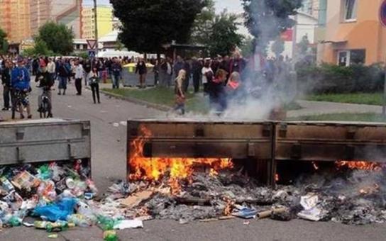 Napětí na českobudějovickém sídlišti pokračuje. I v sobotu se tam srotili lidé