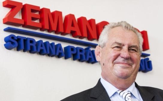 V úterý 14.1. přijede do Chebu prezident Miloš Zeman