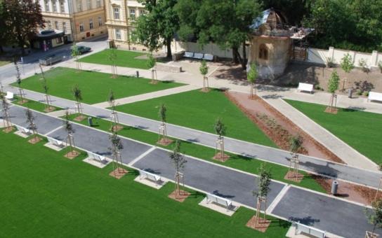 Střední část městského parku bude slavnostně otevřena 6. září