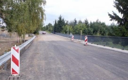 Most v Ohrazenicích je konečně v provozu