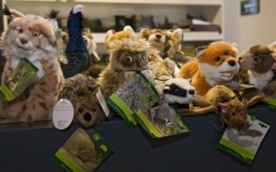 Jsou k sežrání! Šumavská informační střediska obsadili plyšáci - rys, vlk, liška, ježek, netopýr, dokonce i tetřev