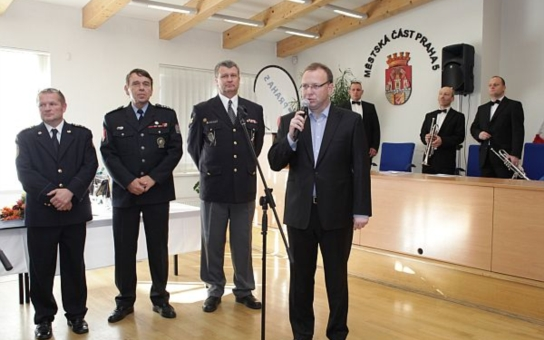 Městská část Praha 5 udělovala čestná uznání příslušníkům bezpečnostních složek