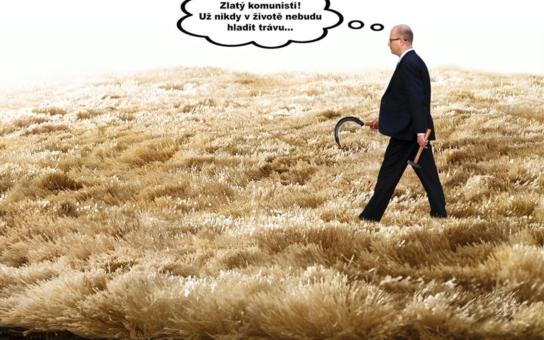 Jak si Sobotka u prezidenta naběhl na vidle, a to s velkým rozběhem. Čtěte