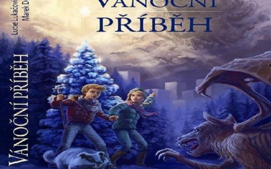 Vychází atraktivní knížka pro děti Vánoční příběh, fantasy s českým Ježíškem