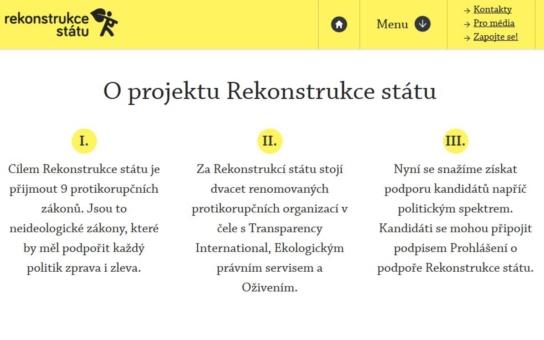 Ambasadoři Rekonstrukce státu z Libereckého kraje si stěžují: Jen komunista  Mackovík s námi nemluví