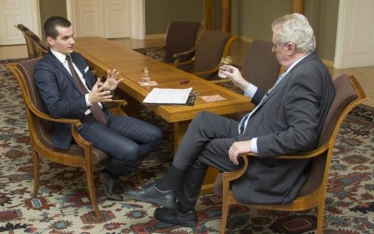Prezident Zeman o svém snu: Umřu v pětaosmdesáti, takže za 15 let se o tom začne vážně mluvit