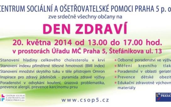 Praha 5: Den Zdraví pod záštitou JUDr. Petra Lachnita