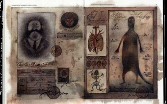 Exotické obálky románu Válka s Mloky z Národní knihovny zpestří prohlídku Velemlokária v pražské zoo