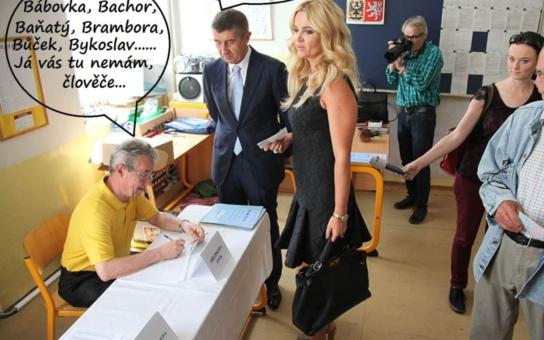 U volební komise: Bábovka, Bachor, Baňatý, Brambora…, já vás tu nemám, člověče! Zkuste Bureš, špitne ministr Babiš. Aneb nejvtipnější fotky z politického zákulisí, koukněte