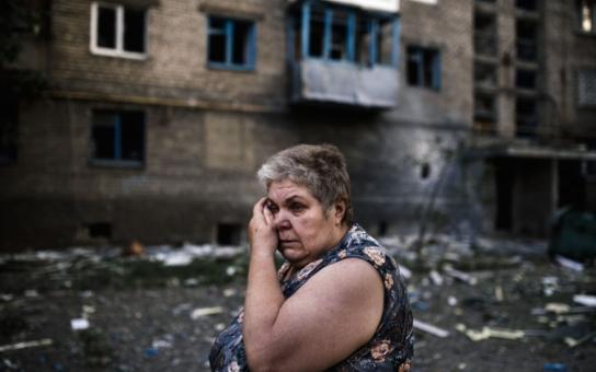 Utekla z Luhansku a říká: Za válkou nemohou obyčejní Rusové ani Ukrajinci. Tohle jsou viníci