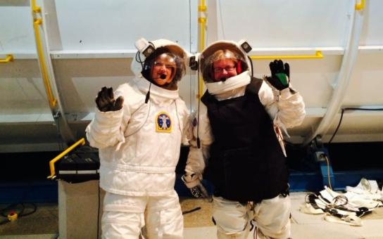 Učitelka fyziky z Pardubicka prošla tréninkem kosmonautů v Kosmickém a raketovém centru v USA
