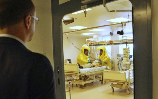 S Centrem biologické ochrany v Těchoníně na Pardubicku, které se jako jediné postará o pacienty s ebolou, se počítá
