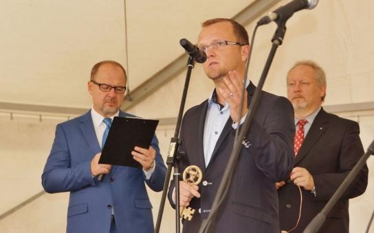 Litomyšl získala zpět klíče od jedenácti opravených objektů zámeckého návrší, slavnosti se zúčastnil i hejtman