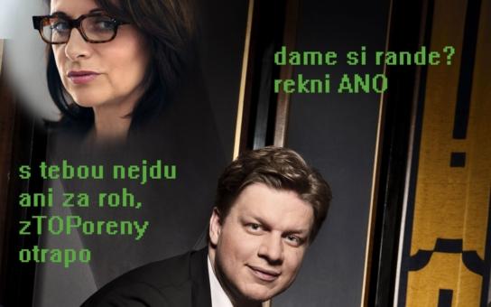 Blanka - k volbám schůdeček, s úctou Tomáš Hudeček. V Praze to bude o prsa Adriany Krnáčové a už teď létají urážky mezi favority. Jde o podivné esemesky