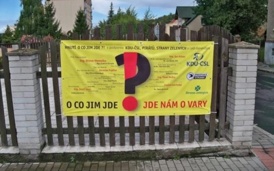 Karlovy Vary mají novou koalici. Většina občanů města ji ale nevolila. Zase byli voliči brutálně podvedeni?