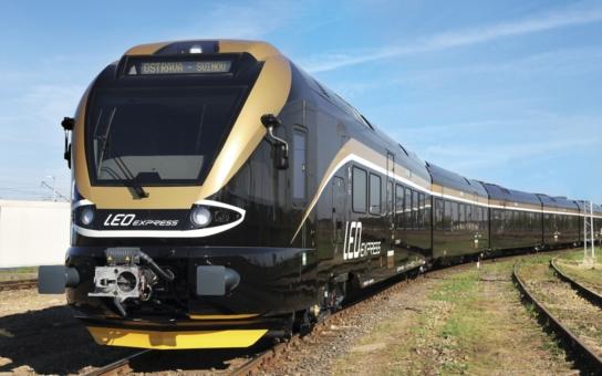 LEO Express vypravil novou linku z Prahy do polského Krakova. Jede přes Ostravu, Přerov, Olomouc