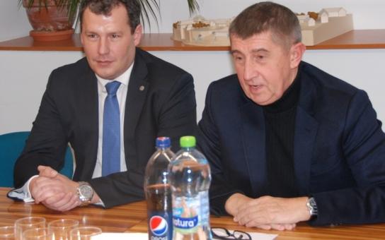 Andrej Babiš ve Znojmě: Peníze zůstávají, ministři odcházejí! A co se obchvatu týče...