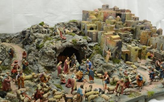 Krásná a stylová vánoční výstava: Betlémy v Klementinu