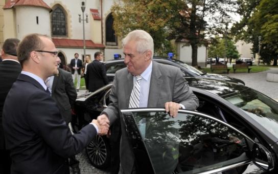 Do Pardubického kraje se chystá prezident Zeman. Čtěte kompletní program návštěvy