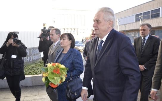 Po necelém roce se do Královéhradeckého kraje chystá prezident. Máme přesný program jeho návštěvy. Některé akce jsou přístupné veřejnosti