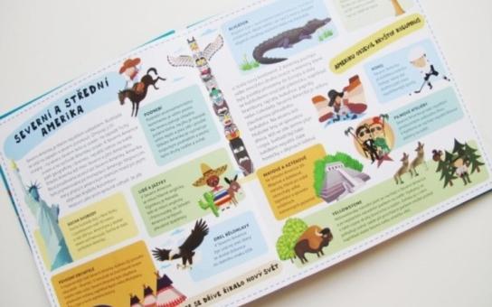 I předškolák může poznat celou naši planetu. Pomůže mu ilustrovaný Atlas pro děti