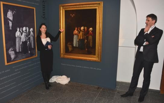 Modlitba za oběšence, to je název vzácného obrazu, který získala Alšova Jihočeská galerie. Unikátní dílo má dramatickou historii