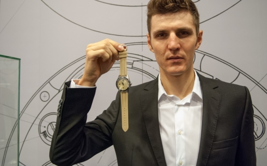 Primky považuji za světové hodinky vyrobené v Česku, je radost na ně pohledět. Olympijský vítěz Kulhavý představil v Ostravě nové hodinky PRIM